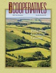 Preserving Common Ground - USDA Rural Development - US ...