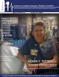 VICKEN Y. TOTTEN, MD, MS - The Society for Academic Emergency ...