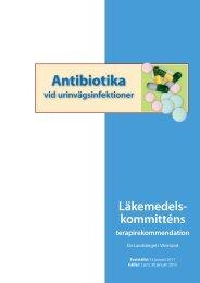 Urinvägsinfektioner - Landstinget i Värmland