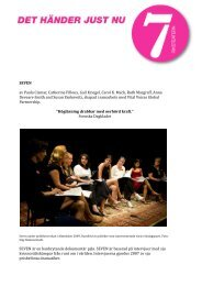 Läs om föreställningen där sju värmländska politiker deltar den 16 ...