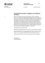 Kompensation till externa vårdgivare inom Hälsoval Värmland