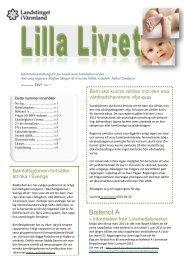 Lilla LiVet nr tre 2012x - Landstinget i Värmland