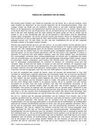 FABELS EN LEGENDEN VAN DE HEMEL - Orde der Verdraagzamen