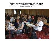 Eurocarers årsmöte 2012 - foton är tagna av Karoline Ödell, NkA