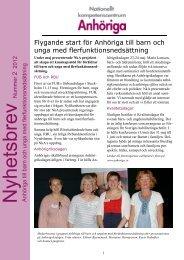 Hämta Nyhetsbrev 2, 2012 i pdf-format - Nationellt ...