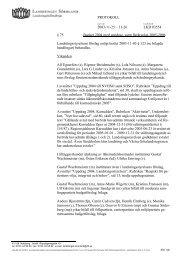 75 Budget 2004, flerårsplan 2005-2006 - Landstinget Sörmland