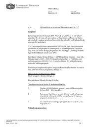 59 Miljöpolitiskt program med folkhälsoperspektiv - Landstinget ...