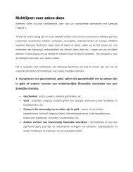 Richtlijnen voor zaken doen - Samsung