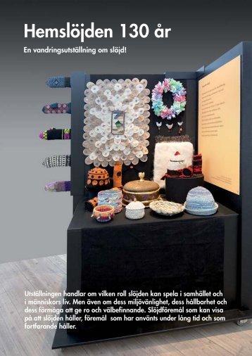 Utställningskatalog till Hemslöjdsutställningen (pdf 192 Kb)
