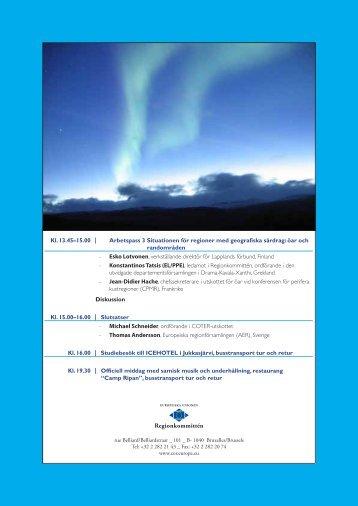 Program - Norrbottens läns landsting