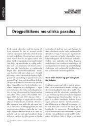 Veikko Launis & Mikko Wennberg: Drogpolitikens moraliska paradox