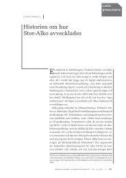 Historien om hur Stor-Alko avvecklades