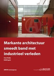 Markante architectuur smeedt band met industrieel ... - Sapa Group