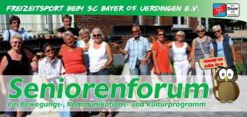 Seniorenforum 2012-1.Quartal - SC Bayer 05