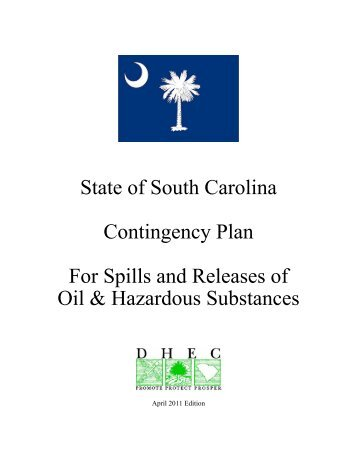 State of South Carolina - Department of Health and Environmental ...