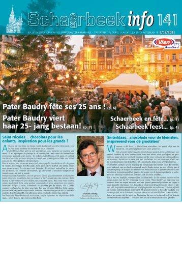Schaarbeek Info nr. 141 - Schaerbeek