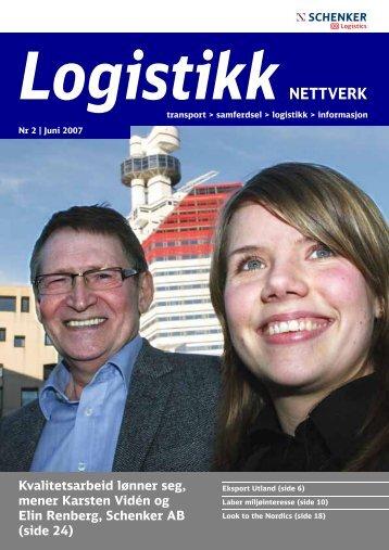 Kvalitetsarbeid lønner seg, mener Karsten Vidén og Elin ... - Schenker
