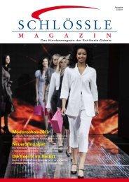 Das Kundenmagazin (PDF, 3,1 MB) - Schlössle-Galerie