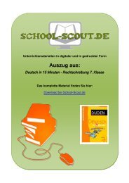 Deutsch in 15 Minuten - Rechtschreibung 7. Klasse - School-Scout