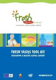 Fresh Tastes Tool Kit - Public Schools NSW