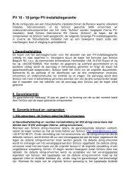 Garantievoorwaarden downloaden - Schüco