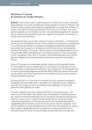 Het Schüco 2˚ Concept de toekomst van energie-efficiency