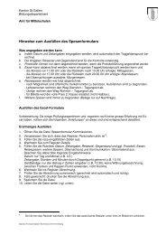 Anleitung - schule.sg.ch - Kanton St.Gallen