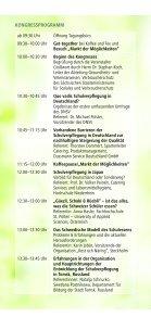 Kongressprogramm, 5.9.2011, Kita- und Schulverpflegung - DNSV - Page 4