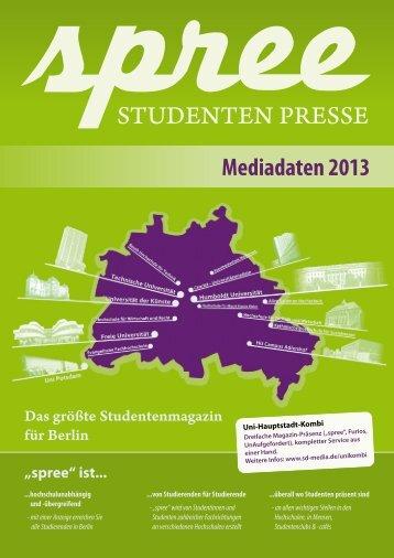 Mediadaten 2013 - SD Media Services