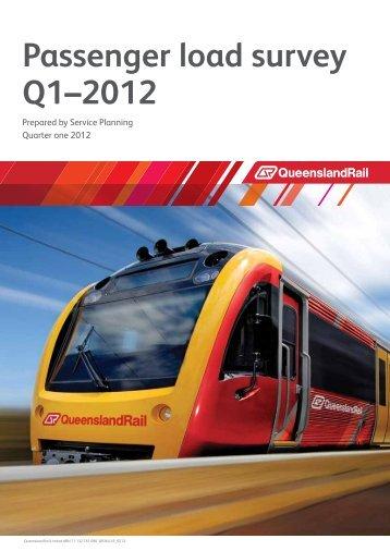 Passenger Load Survey 2012Q1 - TransLink
