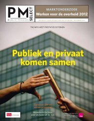 Publiek en privaat komen samen - Sdu