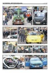 AUTOMOBIL-MESSERUNDGANG - Bietigheimer Zeitung