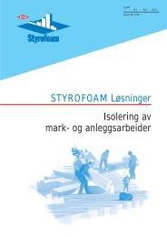 STYROFOAM Løsninger Isolering av mark- og ... - Glava