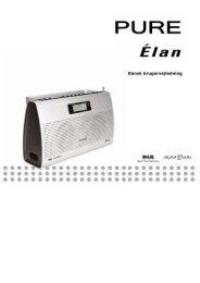 Pure Elan Dansk Manual