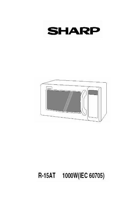 R-15AT Operation-Manual DK - Sharp