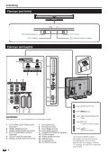 LC-46/52D65E/DH65E/S Operation-Manual DK - Sharp - Page 6