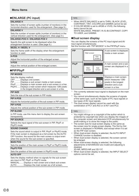 PN-S525 Operation-Manual GB - Sharp