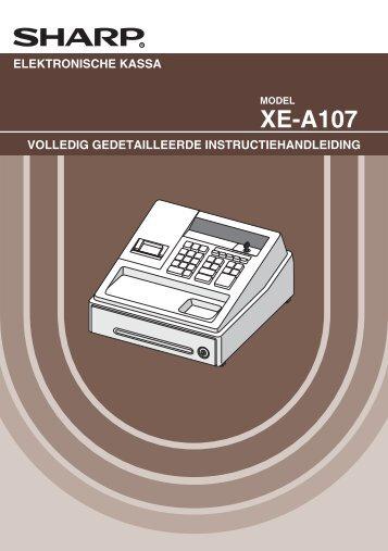 XE-A107 - Sharp