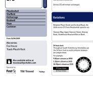 Bus timetable (PDF)