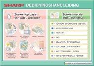 MX-2614N/3114N Operation-Manual NL - Sharp