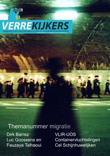 Themanummer migratie - CELLO - Universiteit Antwerpen