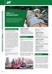LANDWIRTSCHAFT, UMWELT UND - Initiative Sichere Gemeinden