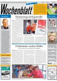06. Aug. 2008 Singener Wochenblatt