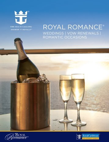 Royal Romance Brochure - Royal Caribbean International