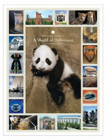 A World of Difference 2005 Annual Report - Smithsonian Institution