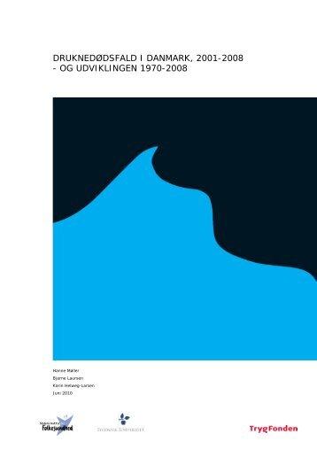 druknedødsfald i danmark, 2001-2008 - Statens Institut for ...