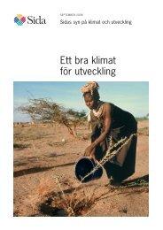 Ett bra klimat för utveckling - Sida