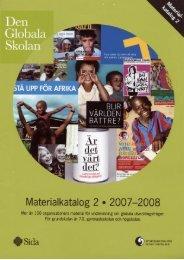 Materialkatalog 2, 2007-2008 - Sida