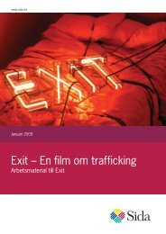 Exit – En film om trafficking - Sida