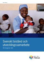 Svenskt bistånd och utvecklingssamarbete - Sida